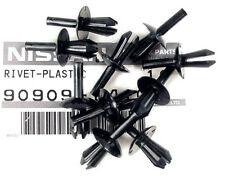 Datsun OEM Interior Plastic Rivet 10-Pak, Black, 240Z 260Z 280Z, 1970-78, NEW!