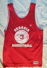 VINTAGE Converse Reversible Basketball Jersey University of Georgia XXL MADE USA