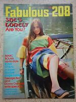 Fabulous 208 Magazine.11th.September 1971....VINTAGE COLLECTABLE MUSIC MAGAZINE.