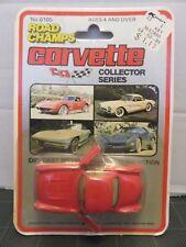 Road Champs Collector Series Red Corvette Die Cast 2 doors open #6105 Kmart