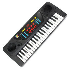 Kids Children 37 Key Electronic Keyboard Piano Musical Toy Record Microphon C7U2