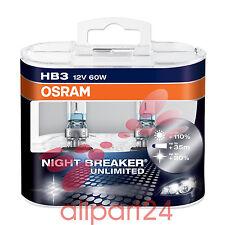 Osram Night Breaker Unlimited Hb3 Lampada alogena per Proiettori 9005nbu-hcb 1