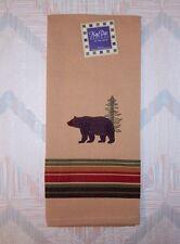 Bear Tea Towel Bear Embroidery Pattern Kay Dee