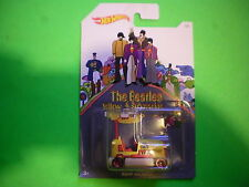 "HOT WHEELS BEATLES YELLOW SUBMARINE ""BUMP AROUND"" FREE SHIPPING"