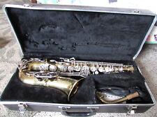Selmer Bundy II Alto Sax Student? Saxophone Hard Case Made in USA 1062827 dinged