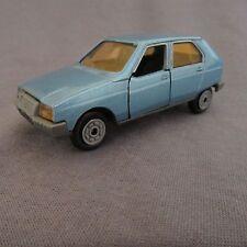 608e vintage jet car norev Citroën visa 782 1:43 blue