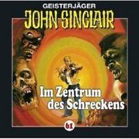 JOHN SINCLAIR: FOLGE 61 - IM ZENTRUM DES SCHRECKENS CD NEW