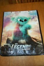 DC LEGENDS OF TOMMORROW 2018 SDCC SWAG TOTE BAG SAN DIEGO COMIC-CON LARGE