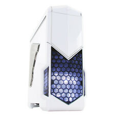CIT Spectre Case Gaming PC Bianco 2 X USB 3.0 SIDE Window toestrap Card Reader