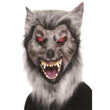 Disfraz de Halloween Máscara hombre lobo Merodeador gris Ref.26487 Smiffys