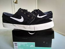 Nike SB Zoom Stefan Janoski Elite Black Suede Size 10 og everything extra laces