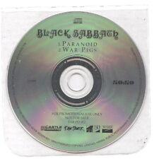 BLACK SABBATH Paranoid / War pigs RARE EUROPE PROMO CD on 50:50 - NEW UNPLAYED