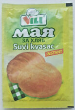 Dried Yeast 4 x 7gr. Sachets for Bread Maker & Baking PIZZA DOUGH Fast Acting