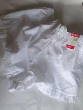 PRIMARK LOVE TO LOUNGE WHITE COTTON PYJAMA BOTTOM SHORTS PANTS-BNWT