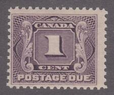 Canada 1906 #J1 First Postage Due Issue - F MNH