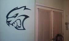 Vinyl Tribal HellCat Wall Art Home Decor Decal Sticker Viper BLACK SRT RT MOPAR