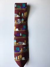 Vintage Collectible Tie Necktie Medical Fashions Pharmacist Pharmacy Tie