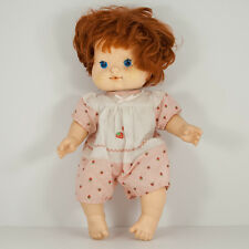 VintageBaby Strawberry Shortcake Blow Kiss Doll Kenner American Greetings 80s