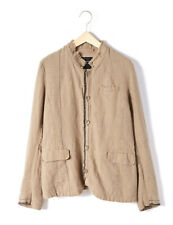 ~NEW~ Pas de Calais $580 stripe Linen Button-Up Jacket sz 40
