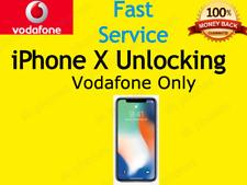 Unlock Unlocking Service for Iphone 5 5S SE 6 7 8 plus X Xs  Xs Max  Vodafone UK