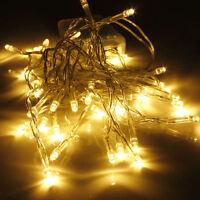 20 LEDs Warmweiß Weihnachten Party Hochzeit Batterie LED Lichterkette 2M Kette