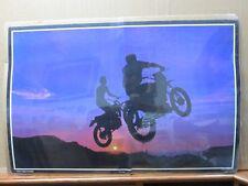 Sunset flight Vintage Moto Dirt Bike motorcycle 1972 in#G2658