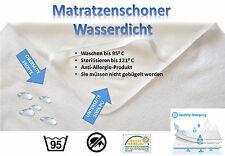 Matratzenschoner Matratzenauflage Matratzenschutz wasserdicht Inkontinenz Öko 4