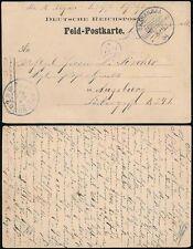 GERMAN SOUTH WEST AFRICA 1904 SOLDIERS MAIL FELD POSTCARD STATIONERY...OKAHANDJA