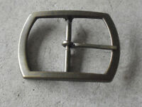 "Vintage Brass Belt Buckle 3 1/4"" Wide"