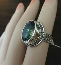 New!! Sarda Odyssey Green Mystic Moods ring SOLD OUT see sizes!!