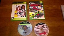 Fifa 2003 + Burnout 2 VF [SN] Xbox