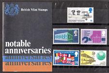 1969 Notable Anniversaries Presentation pack UNMOUNTED MINT