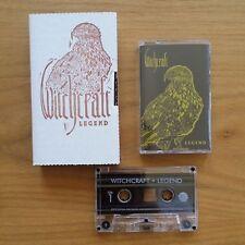 Witchcraft - Legend Cassette Tape - NEW - Easy Rider - Stoner Metal Graveyard
