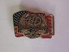 boucle ceinture Harley Davidson (Harmony design 'Inc 1989)