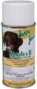 Happy Jack Sardex II Sarcoptic Mange Remedy 9.5oz Aerosol Spray For Dogs