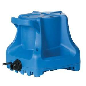 Little Giant Automatic 1700 GPH Winter Pool Cover Portable Water Pump, APCP-1700
