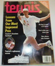 Tennis Magazine Jennifer Capriati & John Feinstein January 1992 122014R2
