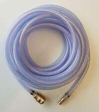 Druckluftschlauch Ø6mm PVC Pressluftschlauch 10m Schnellkupplung 15bar