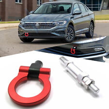 Sporty Red Track Racing Aluminum CNC Tow Hook For Volkswagen Jetta MK6 2011-2016