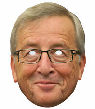 Jean-Claude Juncker Single 2D Card Party Face Mask - European Politician Brexit