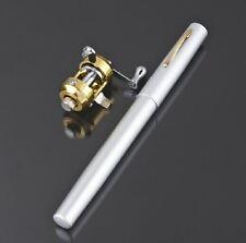 Aluminium Alloy Fishing Rod in Pen Case
