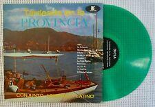 CONJUNTO ARMONICO LATINO Tardeada en la Provincia DICSA Guaguanco Green Vinyl LP