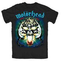 Motorhead T Shirt Overkill Officially Licensed Mens Black Tee Unisex NEW