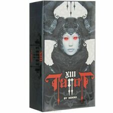 New 78 XIII Tarot Cards by Nekro Oracle Fantasy Dark Gothic Deck Set Guidebook