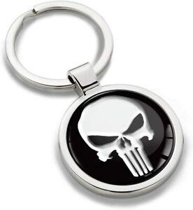 Schlüsselanhänger Metall Keyring Keychain Punisher Schlüsselbund Geschenk KK 220