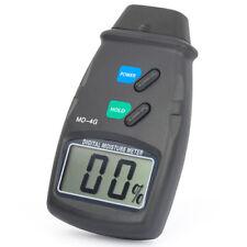 Digital Damp Moisture Meter Detector Tester Wood Timber Plaster Sensor Caravan