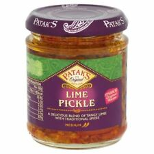 4x Patak's Lime Pickle 170g