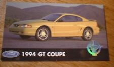 ★★1994 MUSTANG GT OFFICIAL FORD PHOTO MAGNET 94 5.0 302 94-98 COUPE YELLOW★★