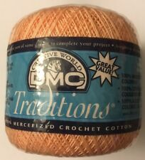 "Tatting Crochet KnitTING Embroidery Thread DMC ""PEACH"" Size 10 NIP"