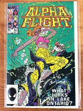 Alpha Flight #14 (Sep 1984, Marvel) What Lurks in Lake Ontario?